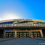 Exactech Arena at the Stephen C. O'Connell Center at the University of Florida in Gainesville, Florida.  October 3rd, 2017. Gator Country photo by David Bowie.