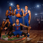 University of Florida Gators forward Isaiah Stokes poses for portraits during the 2017 Florida Gators mens basketball media day.  October 3rd, 2017. Gator Country photo by David Bowie.