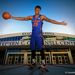 University of Florida Gators poses for portraits during the 2017 Florida Gators mens basketball media day.  October 3rd, 2017. Gator Country photo by David Bowie.