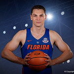 University of Florida Gators guard Egor Koulechov poses for portraits during the 2017 Florida Gators mens basketball media day.  October 3rd, 2017. Gator Country photo by David Bowie.
