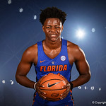 University of Florida Gators forward Dontay Bassett poses for portraits during the 2017 Florida Gators mens basketball media day.  October 3rd, 2017. Gator Country photo by David Bowie.