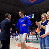 University of Florida Gators Mens Basketball Arkansas Razorbacks Senior Day 2017