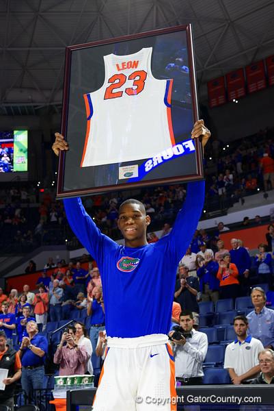 University of Florida Gators Mens Basketball Arkansas Razorbacks Senior Day 2017