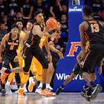 Univeristy of Florida Gators forward Devin Robinson with a rebound during the first half as the Gators defeat SEC East rival, the Tennessee Volunteers at Exactech Arena 83-70 at the Stephen C. O'Connell Center in Gainesville, Florida.  January 7th, 2016. Gator Country photo by David Bowie.