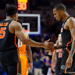 Univeristy of Florida Gators guard Kasey Hill during the second half as the Gators defeat SEC East rival, the Tennessee Volunteers at Exactech Arena 83-70 at the Stephen C. O'Connell Center in Gainesville, Florida.  January 7th, 2016. Gator Country photo by David Bowie.