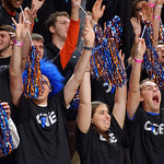THe Rowdy Reptiles cheer on during the first half as the Gators defeat SEC East rival, the Tennessee Volunteers at Exactech Arena 83-70 at the Stephen C. O'Connell Center in Gainesville, Florida.  January 7th, 2016. Gator Country photo by David Bowie.