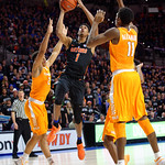 Univeristy of Florida Gators forward Devin Robinson drives to the basket and scores during the first half as the Gators defeat SEC East rival, the Tennessee Volunteers at Exactech Arena 83-70 at the Stephen C. O'Connell Center in Gainesville, Florida.  January 7th, 2016. Gator Country photo by David Bowie.
