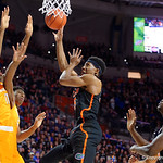 Univeristy of Florida Gators guard KeVaughn Allen driving to the basket during the first half as the Gators defeat SEC East rival, the Tennessee Volunteers at Exactech Arena 83-70 at the Stephen C. O'Connell Center in Gainesville, Florida.  January 7th, 2016. Gator Country photo by David Bowie.