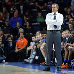 Univeristy of Florida Gators head coach Mike White during the first half as the Gators defeat SEC East rival, the Tennessee Volunteers at Exactech Arena 83-70 at the Stephen C. O'Connell Center in Gainesville, Florida.  January 7th, 2016. Gator Country photo by David Bowie.