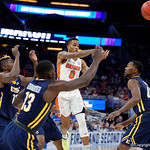Univeristy of Florida Gators guard Kasey Hill during the first half as the Gators advance to the second round of 2017 NCAA Tournament with a win over the  East Tennessee State Buccaneers 80-65.  March 16th, 2017.  Gator Country photo by David Bowie.