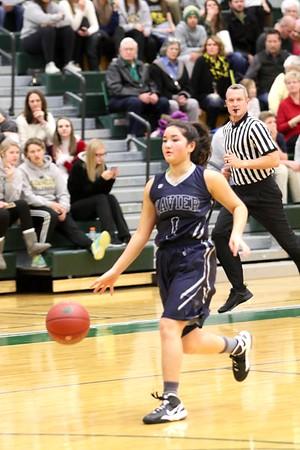 Kennedy vs. Xavier Girls' Basketball 12/20/16