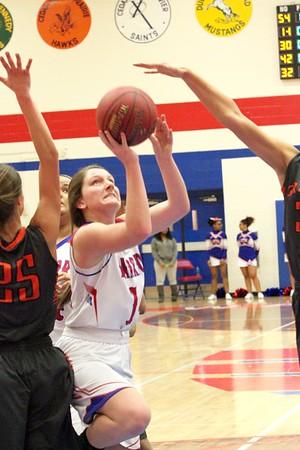 Washington vs. Grinnell Girls' Basketball 1/9/17