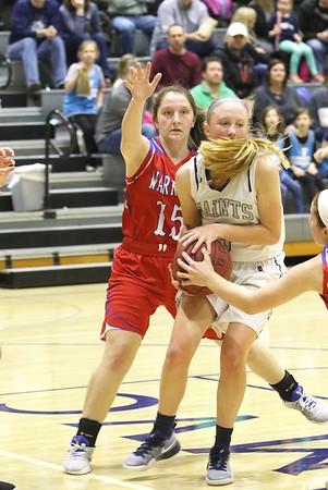 Washington vs. Xavier Girls' Basketball 1/27/17