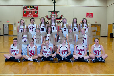 Cheatham Middle Girls Team Pictures