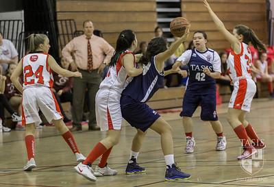 Girls Varsity Basketball vs. Cassarate