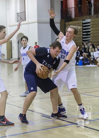 TASIS Boys Varsity Basketball vs the American School of Milan