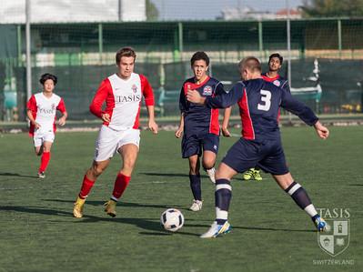 TASIS Boys Varsity Soccer vs British School of Milan