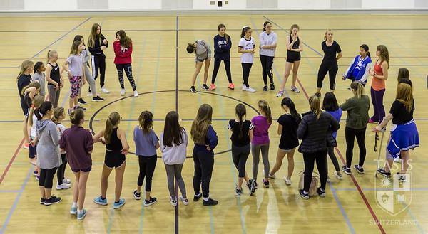 TASIS Cheerleading Clinic