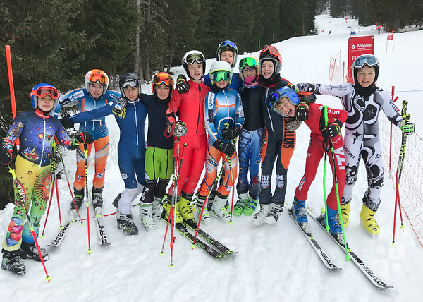 TASIS Downhill Racers at Haut-Lac Giant Slalom