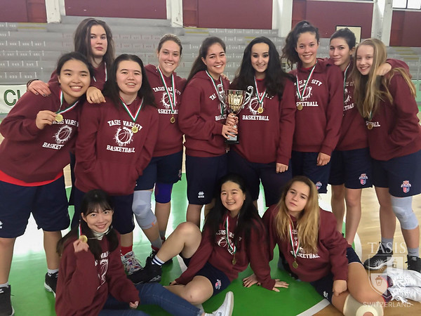TASIS Girls Varsity Basketball Wins the NISSA Championship
