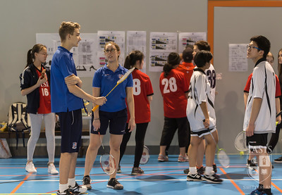NISSA Singles Badminton Tournament
