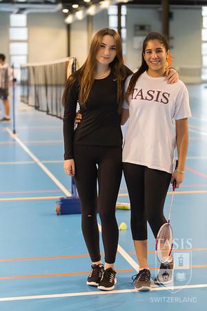 TASIS Hosts NISSA Badminton Singles Tournament