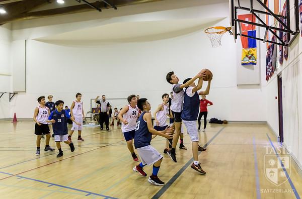 TASIS MS Basketball Teams Take on ASM
