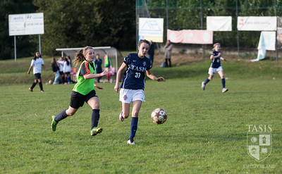 TASIS MS Girls Soccer vs Lugano