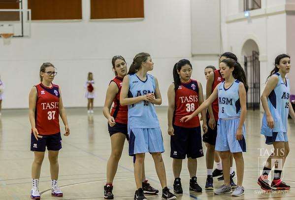 TASIS Varsity Girls Basketball takes on ASM