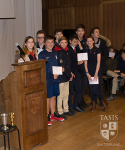 MS Academic Awards - Fall 2017