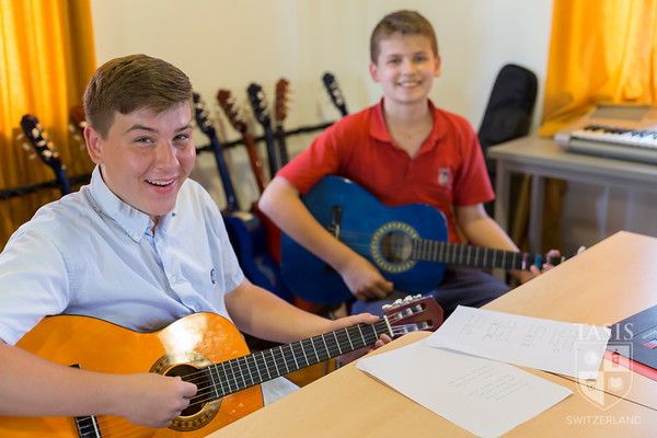 TASIS MS Music Class - Guitar Time!