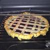 Making grape pies!