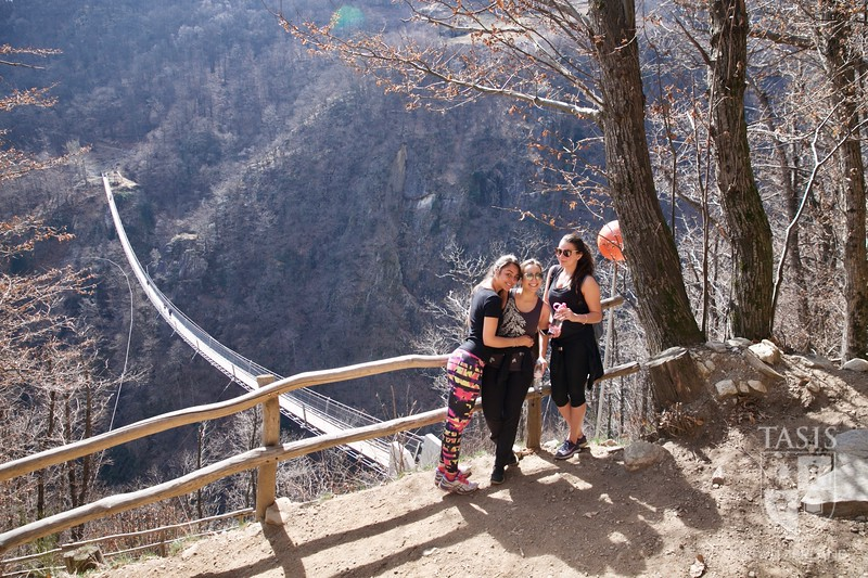 Saturday Hike to the Tibetan Bridge