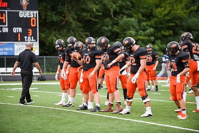 2016 Platte County Varsity Football vs Grandview