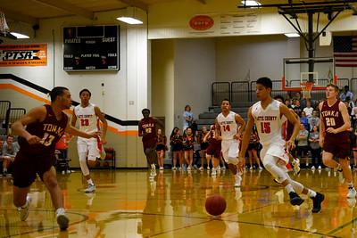 2017 Platte County Boys Basketball vs Tonka