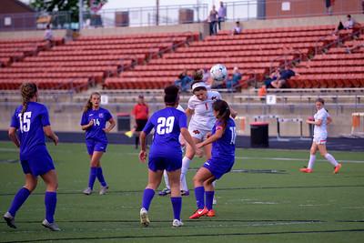 Platte County Girls Soccer vs Belton