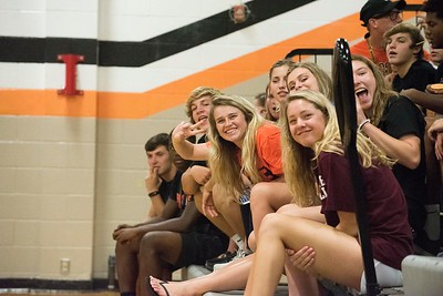 Platte County Varsity Volleyball vs Liberty