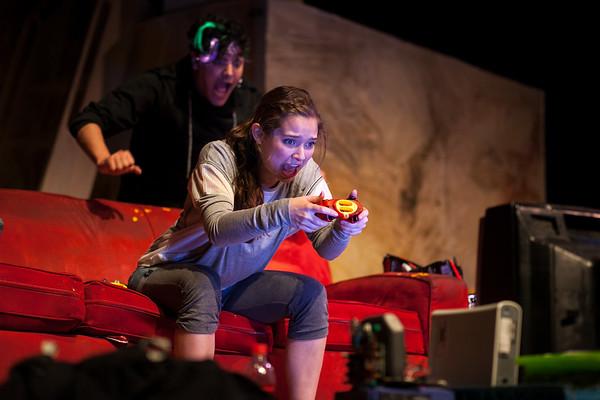 UTNT (UT New Theatre) presents Galactic Orphans, Mar. 2017