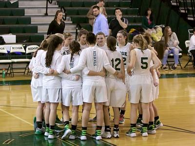 2016-2017 Ridge Girls Basketball