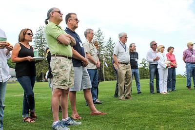 Remembering at Memorial Rock