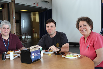 Leslie Breton, Past Faculty, Andrew Block '93 & Toni Scherrer, Faclty/Staff and Headmaster's wife