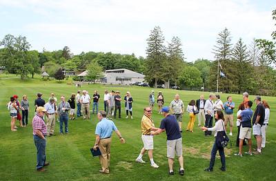 Gathering to Remember at Memorial Rock