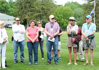 Lynn Ploch, Hamed Kandil, Staff, Toni Scherrer, Faculty/Staff,  Paul Davis, Past Faculty/Staff, Francis Vincent & B de Racey Gilbert '60