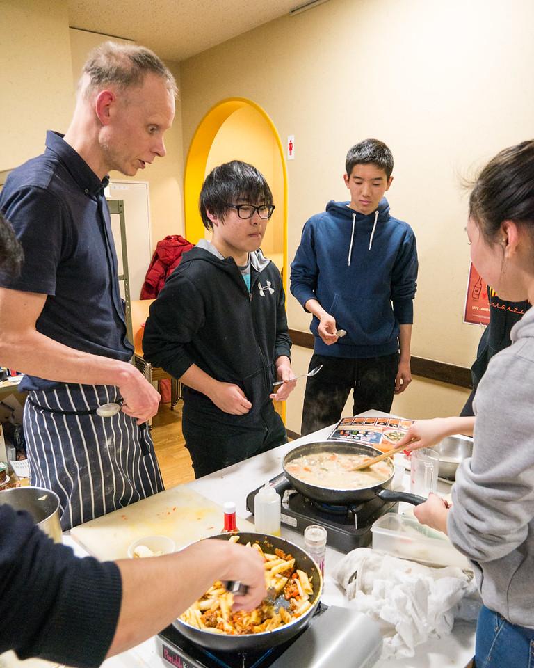 Cooking Class with the Seniors #LearningatYIS #lifelongskills
