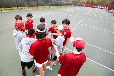 Boys Varsity Tennis 2017