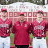 Spring baseball class of 2017 Shane Smith, Mike Kinnealey, Brett O'Leary