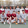 Spring 2017 varsity boys tennis team photo