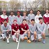 Spring 2017 varsity boys tennis team photo