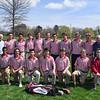 Spring 2017 golf team photo