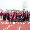 Spring 2017 girls track team photo